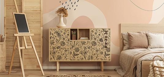 Wie passt man eine zweite Dekoration an, wenn man bereits ein Myredro-Produkt in der Wohnung hat – Tapeten, Fototapeten oder Poster?