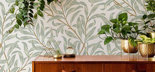 Wohnzimmer im Stil Biophilic Design, oder: wie bringt man die Natur ins Zuhause