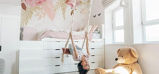 Zimmer für 10 jährige Mädchen. Ideen für angesagte und ästhetische Arrangements
